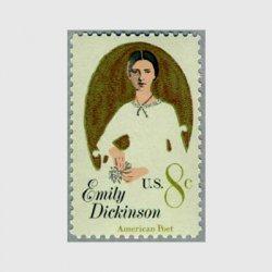 アメリカ 1971年詩人E.ディッキンソン