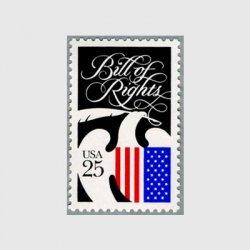 アメリカ 1989年「権利章典」起草200年