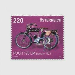オーストリア 2016年オートバイ Puch 125 LM