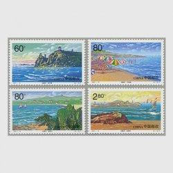 中国 2001年北戴河4種(2001-14T)
