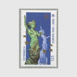 オーストリア 2006年ヨーロッパ切手50年