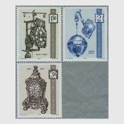 オーストリア 1970年昔の時計1次3種