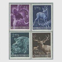 オーストリア 1959年国際狩猟評議会会議4種
