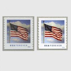 アメリカ 2016年普通切手国旗セルフ糊コイル