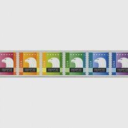 アメリカ 2015年普通切手ワシ6種