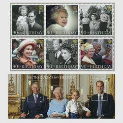 イギリス 2016年エリザベス女王生誕90年