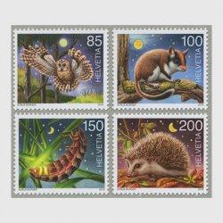 スイス 2016年夜行性動物4種
