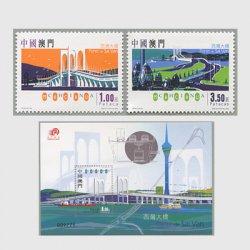 中国マカオ 2005年西湾大橋開通