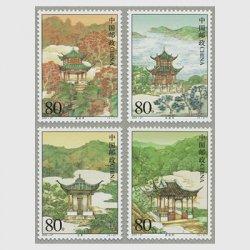 中国 2004年中国名亭4種(2004-27T)