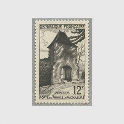 フランス 1952年ボークールールのフランス城門
