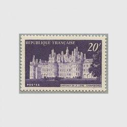 フランス 1952年シャンボール城