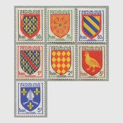 フランス 1954年紋章7種