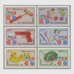 中国香港 2016年香港のおもちゃ(1940-60年代)6種
