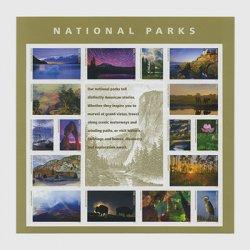 アメリカ 2016年国立公園ミニチュアシート