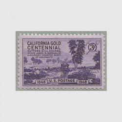 アメリカ 1948年カリフォルニア金鉱100年
