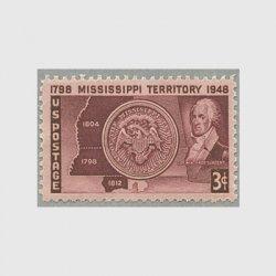 アメリカ 1948年ミシシッピ準州150年