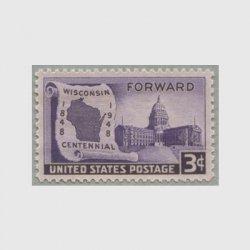 アメリカ 1948年ウィスコンシン州100年