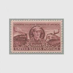 アメリカ 1950年鉄道技師