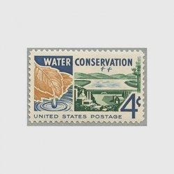 アメリカ 1960年水資源保護
