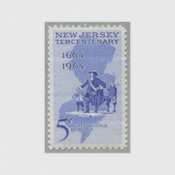 アメリカ 1964年ニュー・ジャージー植民300年