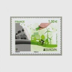 フランス 2016年ヨーロッパ切手エコロジー