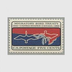 アメリカ 1966年米加渡り鳥保護条約50年