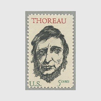 アメリカ 1967年作家H.D.ソロー - 日本切手・外国切手の販売・趣味の ...