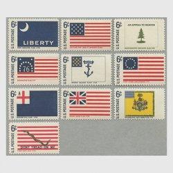 アメリカ 1968年歴史的な旗シリーズ