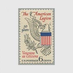 アメリカ 1969年在郷軍人会50年