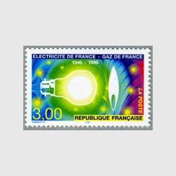 フランス 1996年電力 ガス国有化50年