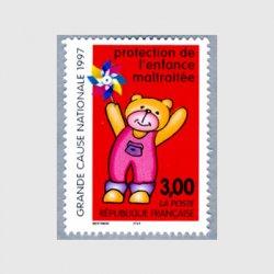 フランス 1997年風車とクマ