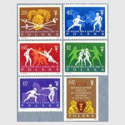 ポーランド 1963年世界フェンシング大会6種