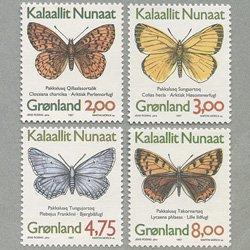 グリーンランド 1997年蝶4種