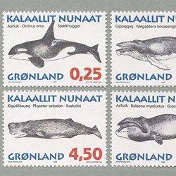 グリーンランド 1996年クジラ類6種