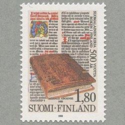 フィンランド 1988年ミサ典書「Missale Aboense」500年