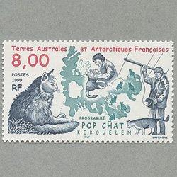 仏領南方南極地方 1999年Pop Cat計画