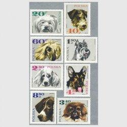 ポーランド 1969年犬8種