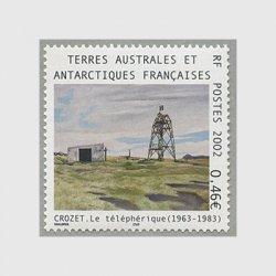 仏領南方南極地方 2002年Crozet島の電信局