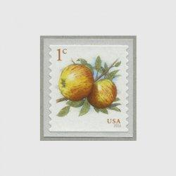 アメリカ 2016年普通切手リンゴ・コイル