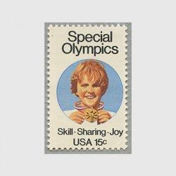 アメリカ 1979年スペシャルオリンピックス