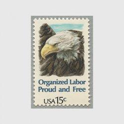 アメリカ 1980年アメリカハクトウワシ