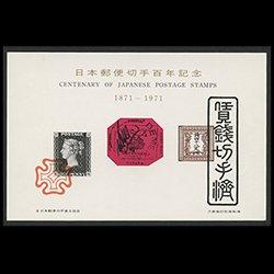 スーベニアカード 日本郵便切手100年記念