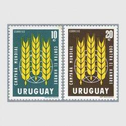 ウルグアイ 1963年FAOキャンペーン2種