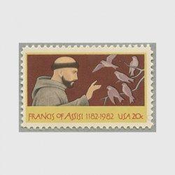 アメリカ 1982年アッシジの聖フランチェスコ