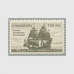 アメリカ 1983年ドイツ人入植300年