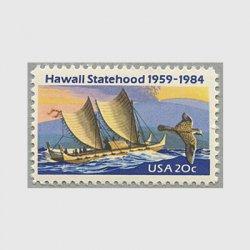 アメリカ 1984年ハワイ州25年