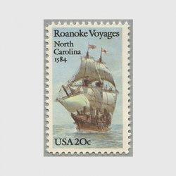 アメリカ 1984年ロアノークへの航海400年