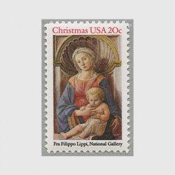 アメリカ 1984年クリスマス 聖母子