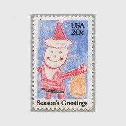 アメリカ 1984年クリスマス サンタクロース