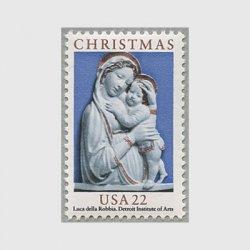 アメリカ 1985年クリスマス 聖母子